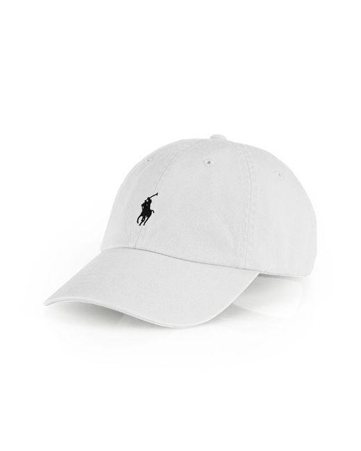 Polo Ralph Lauren | White Signature Pony Hat for Men | Lyst