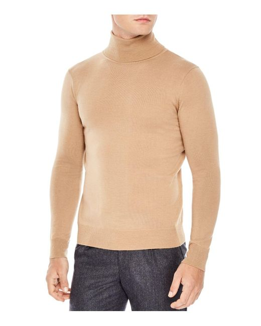 Sandro | Natural Turtleneck Sweater for Men | Lyst