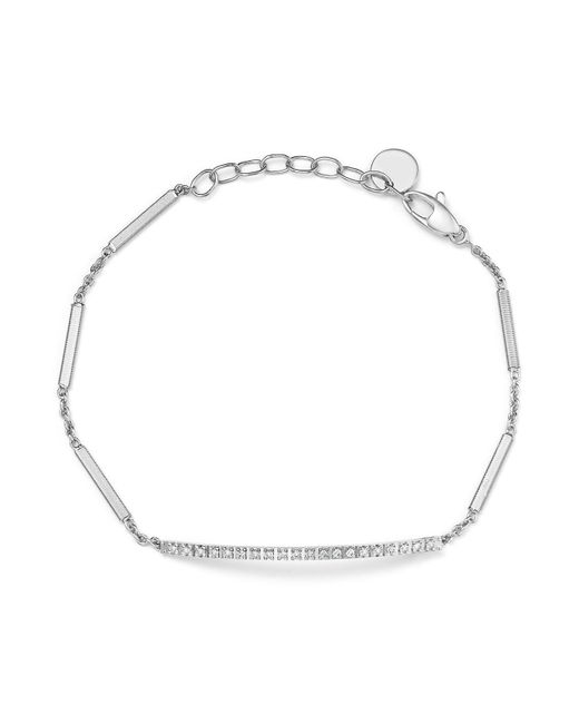 Marco Bicego - 18k White Gold Goa Diamond Chain Bracelet - Lyst