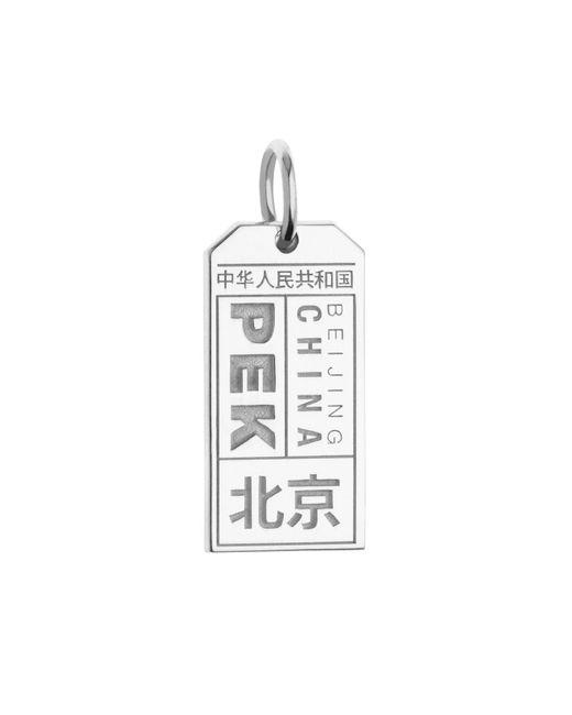 Jet Set Candy | Metallic Pek Beijing Luggage Tag Charm for Men | Lyst