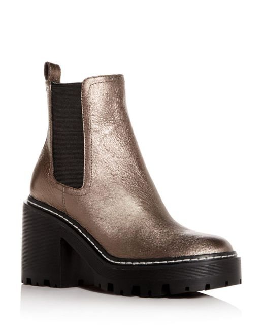 Kendall + Kylie - Multicolor Kendall And Kylie Women's Jett Round Toe Platform Booties - Lyst