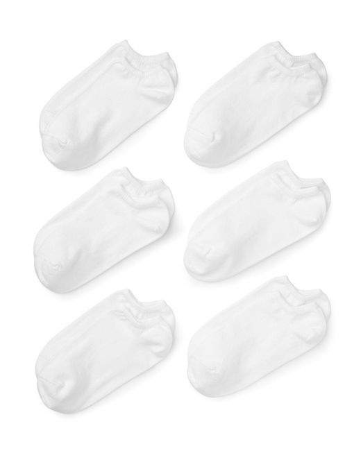 Hue - White Set Of 6 - Lyst
