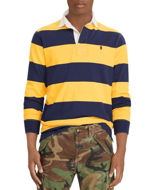 Polo Ralph Lauren - Multicolor Iconic Rugby Shirt for Men - Lyst