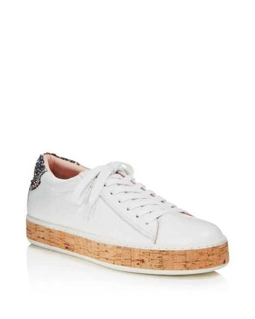 Kate Spade | White Women's Amy Platform Sneakers | Lyst