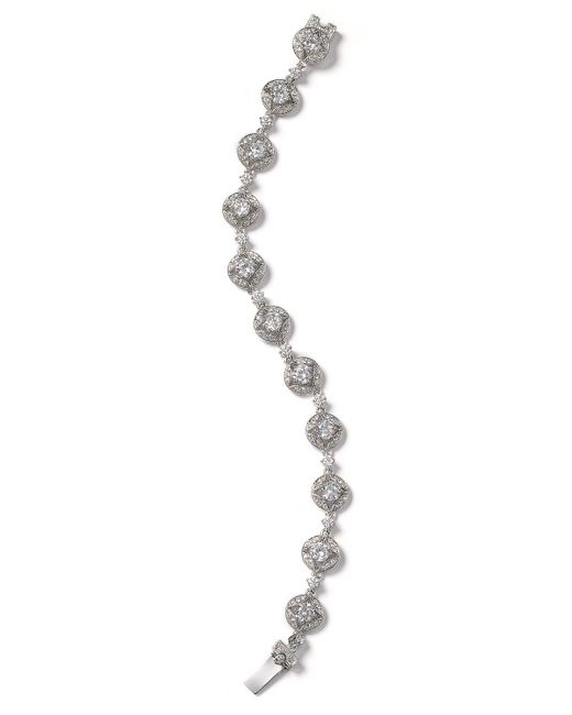 Nadri | Metallic Stone Links Round Bracelet | Lyst