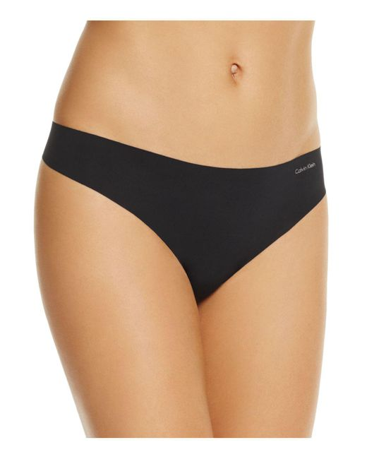 CALVIN KLEIN 205W39NYC - Natural Invisibles Thong - Lyst