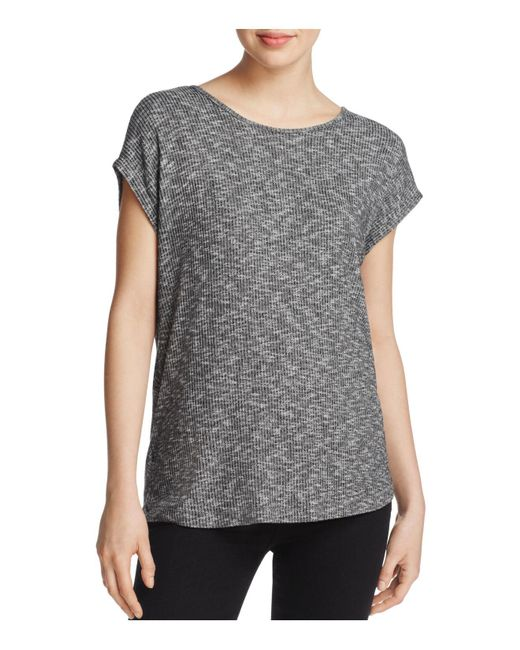 Rag & Bone | Black Cross-back Tee | Lyst