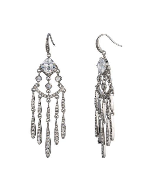 Carolee | Metallic Drama Chandelier Earrings | Lyst