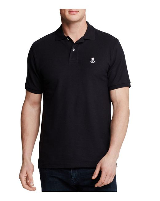 Psycho Bunny | Black Classic Polo - Regular Fit for Men | Lyst