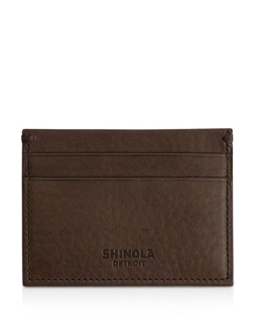 Shinola - Brown 5 Pocket Card Case - Lyst