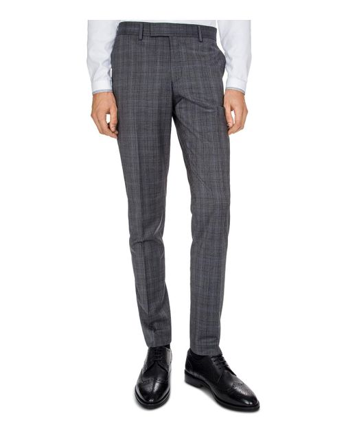 The Kooples | Gray Christmas Costume Slim Fit Trousers for Men | Lyst