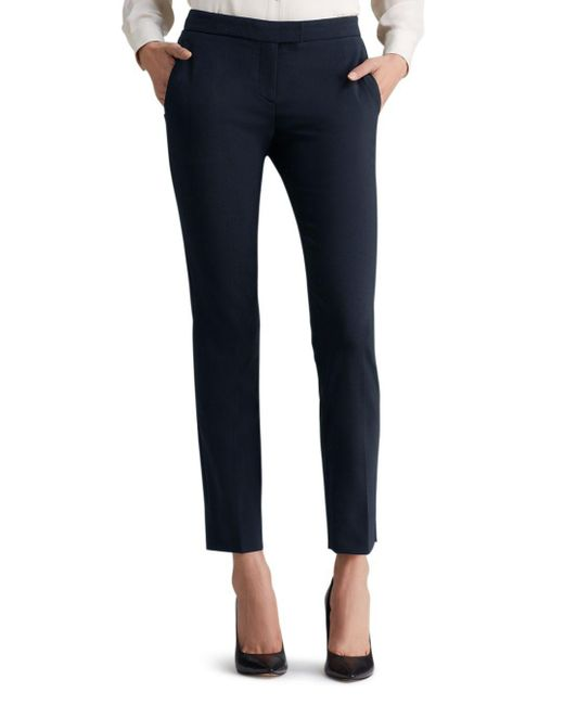Theory - Blue Ibbey Admiral Crepe Pants - Lyst