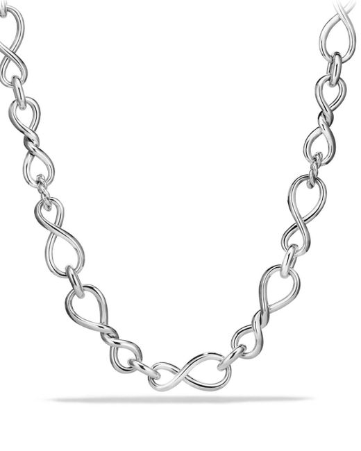 David Yurman - Metallic Continuance Large Chain Necklace - Lyst