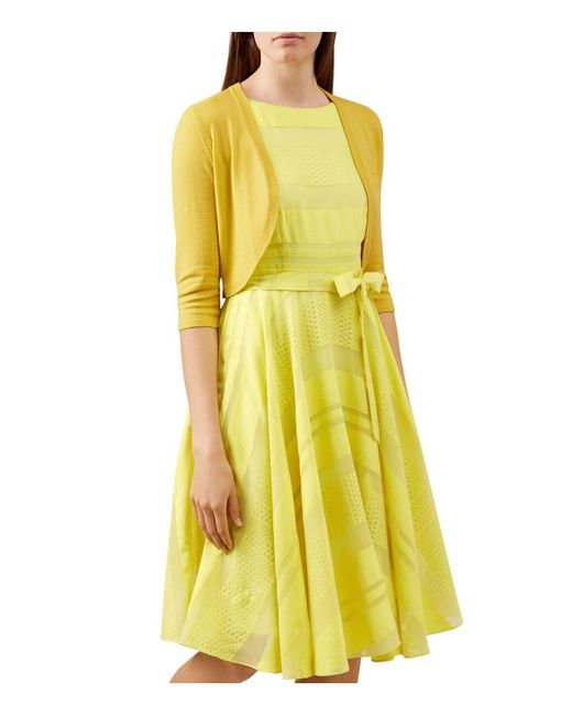 Hobbs | Yellow Carrie Bolero | Lyst