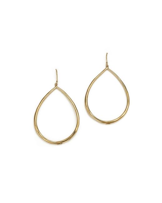 Ippolita | Metallic 18k Yellow Gold Glamazon Faceted Large Teardrop Earrings | Lyst