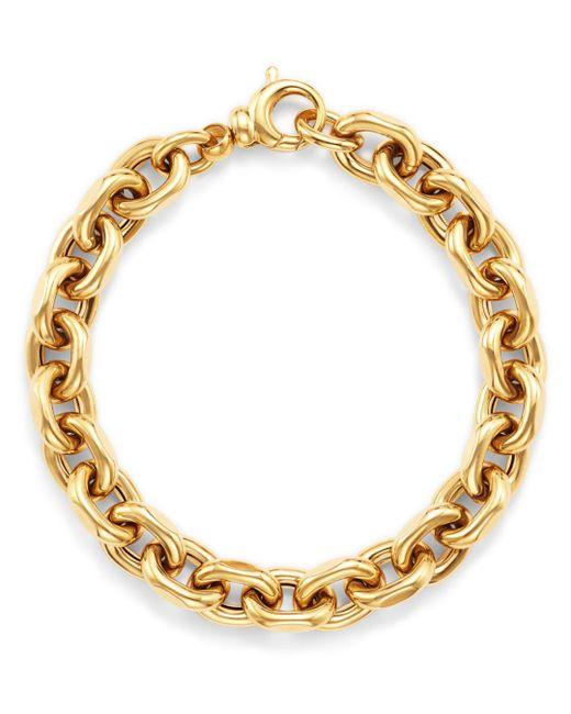 Bloomingdale's - Metallic Interlocking Chain Bracelet In 14k Yellow Gold - Lyst