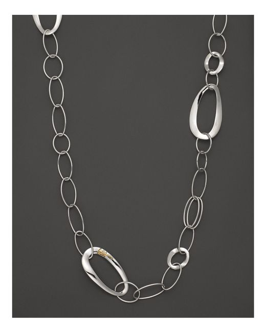 Ippolita | Metallic Sterling Silver Cherish Chain, 40"