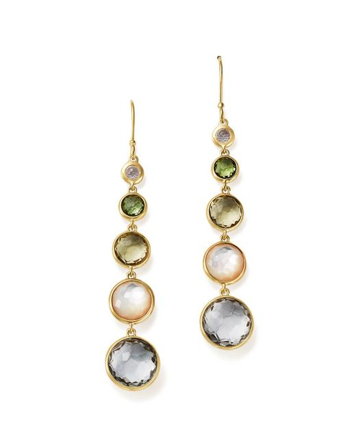 Ippolita | Metallic 18k Gold Rock Candy Lollitini Earrings In Cool Multi Colors | Lyst