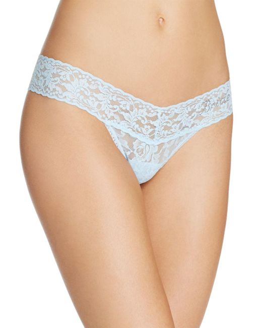 Hanky Panky - Natural Bride Low-rise Thong - Lyst