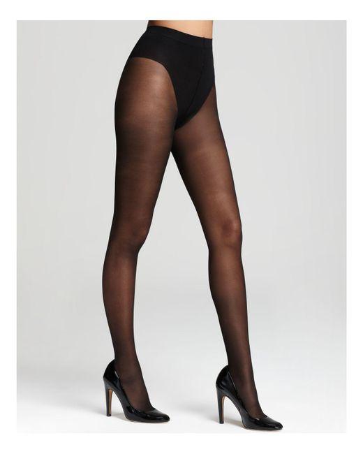 Donna Karan - Black Evolution Ultra Sheer Tights - Lyst