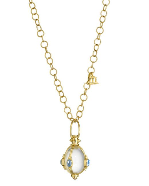 Temple St. Clair - Metallic Royal Blue Moonstone And Tanzanite - Lyst