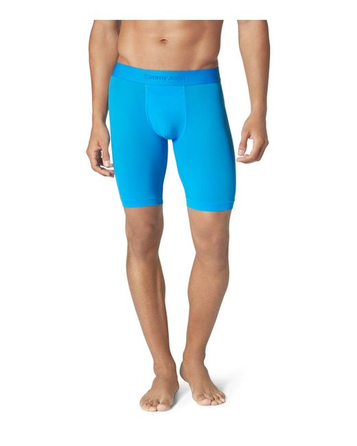 Tommy John | Blue Air Stretch Mesh Boxer Briefs for Men | Lyst