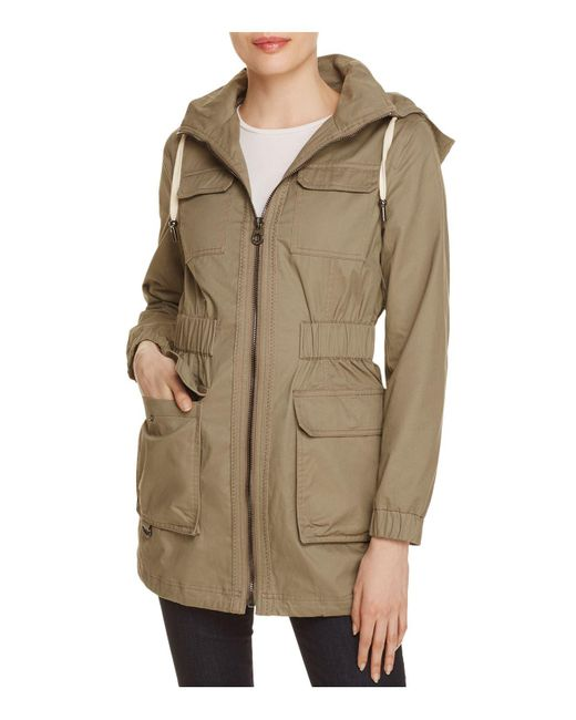 Laundry by Shelli Segal | Green Lightweight Four-pocket Anorak | Lyst