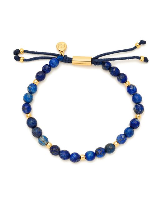 Gorjana | Blue Power Lapis Bead Bracelet | Lyst