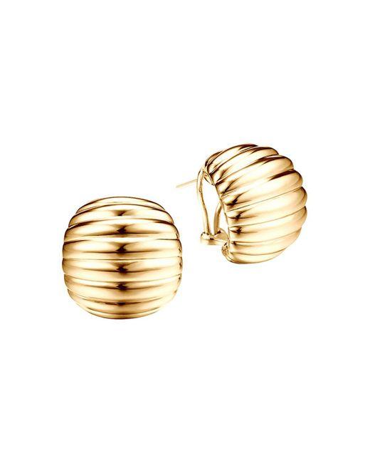 John Hardy | Metallic Bedeg 18k Gold Buddha Belly Earrings | Lyst