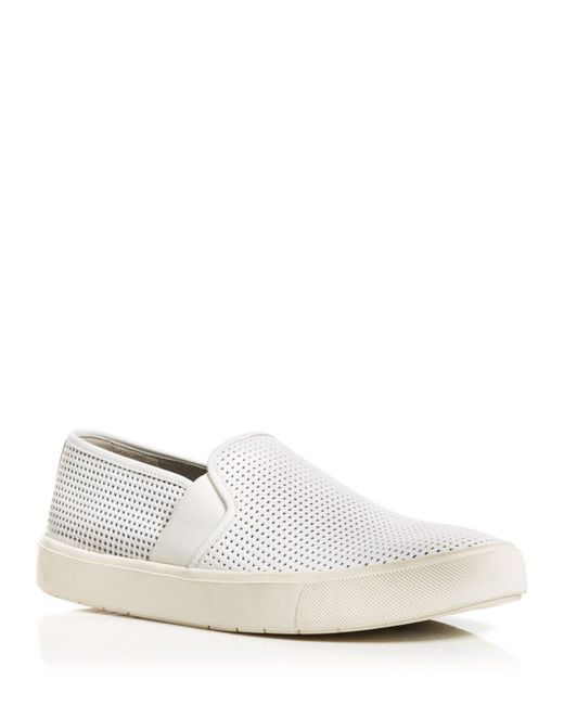 Vince - White Blair 5 Flat Slip-on Sneakers - Lyst