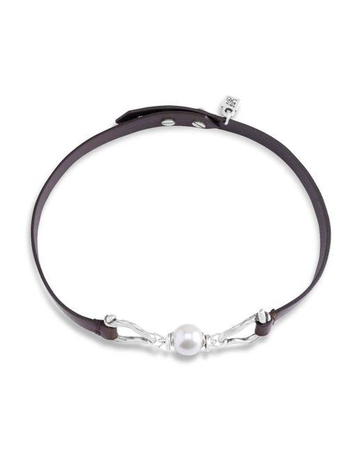 Uno De 50 - Metallic Choper Choker Necklace - Lyst