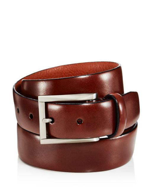 Trafalgar - Brown Marco Leather Belt for Men - Lyst