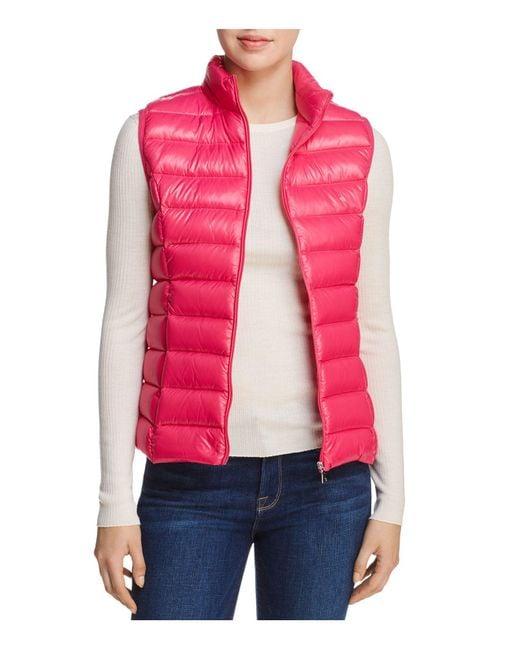 Aqua   Pink Packable Down Vest   Lyst