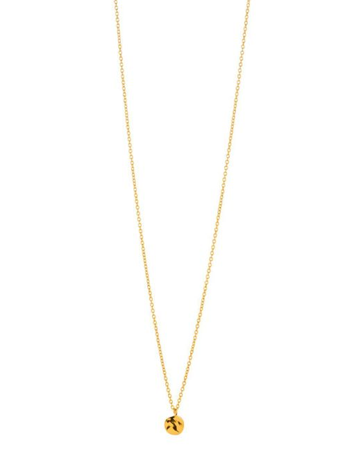 Gorjana - Metallic Chloe Charm Adjustable Necklace - Lyst