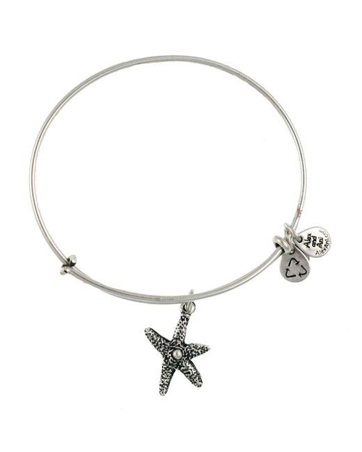 ALEX AND ANI | Metallic Starfish Bangle | Lyst