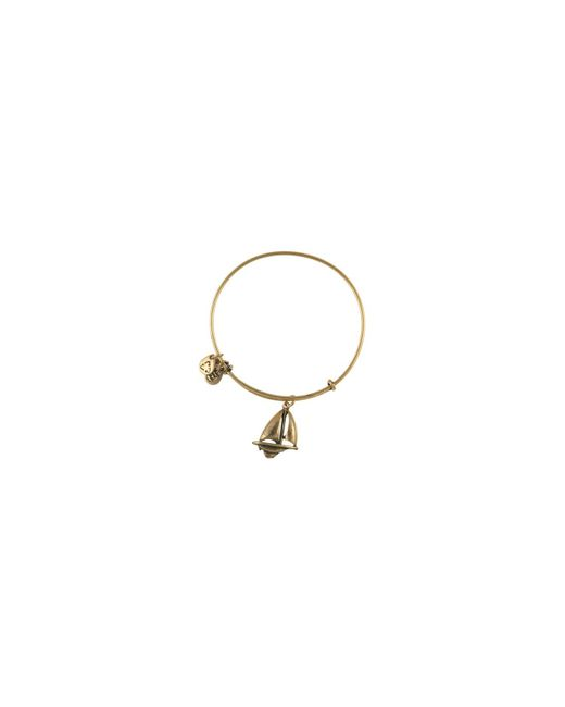 ALEX AND ANI | Metallic Sailboat Bangle | Lyst
