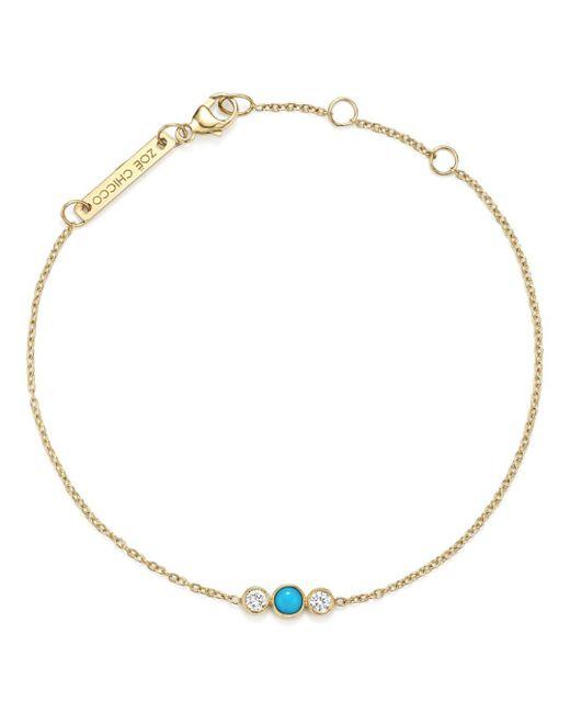Zoe Chicco - Metallic 14k Yellow Gold Bracelet With Diamonds - Lyst