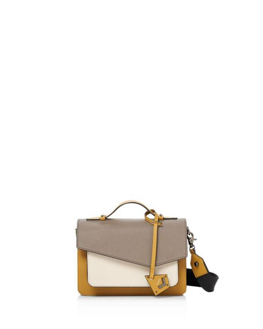 Botkier - Red Cobble Hill Color Block Leather Crossbody - Lyst