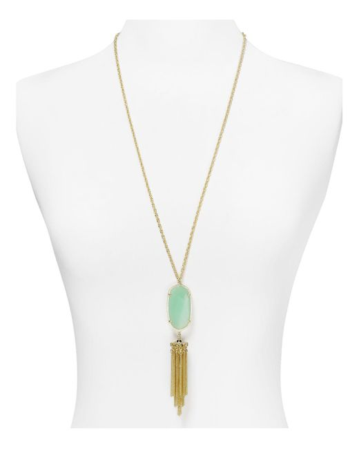 Kendra Scott | Metallic Rayne Pendant Necklace, 38"