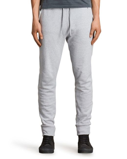 AllSaints Gray Raven Sweatpants for men