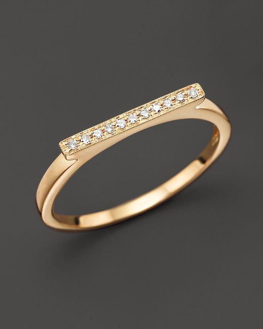 Dana Rebecca | Diamond Sylvie Rose Ring In 14k Yellow Gold | Lyst
