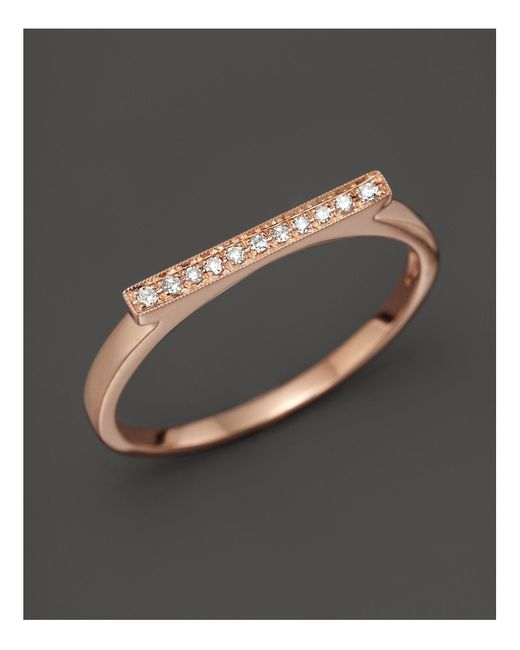 Dana Rebecca | Pink Diamond Sylvie Rose Ring In 14k Rose Gold | Lyst