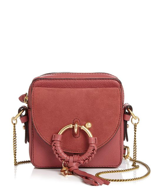 af8345f1b54a See By Chloé - Multicolor Joan Small Leather   Suede Crossbody - Lyst ...