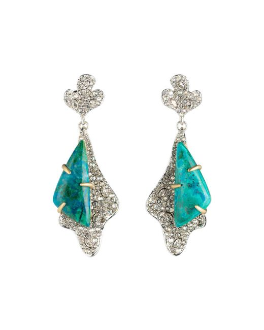 Alexis Bittar - Blue Roxbury Pavé Drop Earrings - Lyst