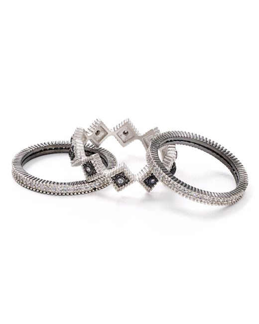 Freida Rothman - Metallic Set Of 3 - Lyst