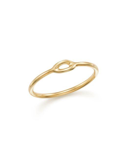 Ippolita - Metallic 18k Yellow Gold Cherish Mini Single Link Midi Ring - Lyst
