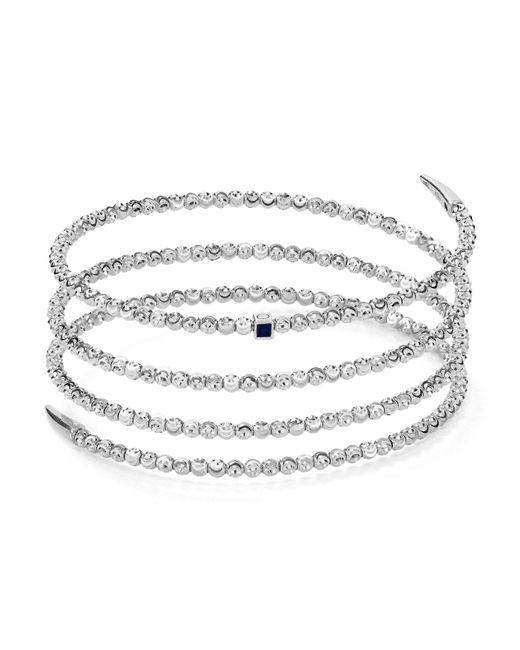 Officina Bernardi | Metallic Coil Bracelet | Lyst