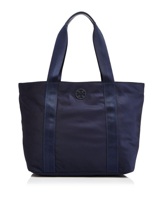 Tory Burch | Blue Quinn Zip Large Tote | Lyst