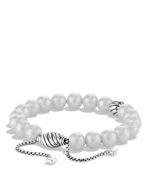 David Yurman - Metallic Spiritual Beads Bracelet With Pearls - Lyst