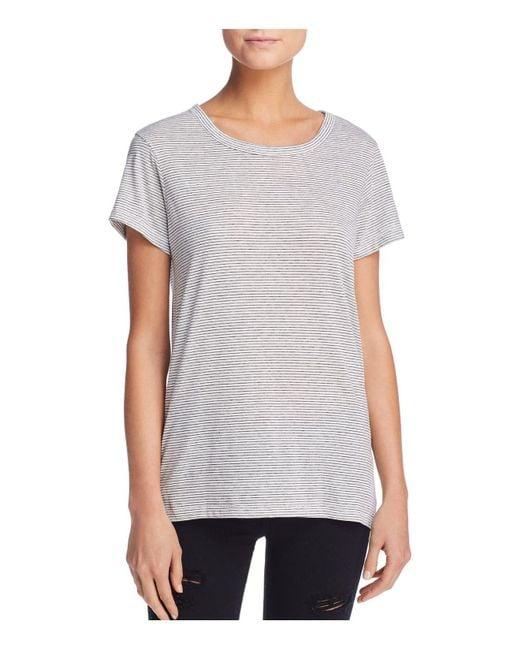 Alternative Apparel - Gray Ideal Striped Tee - Lyst